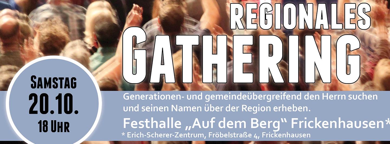 Nächstes Regionales Gathering